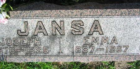 JANSA, JOSEPH - Linn County, Iowa | JOSEPH JANSA