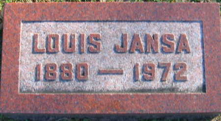 JANSA, LOUIS - Linn County, Iowa | LOUIS JANSA