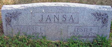 JANSA, ADELINE E. - Linn County, Iowa | ADELINE E. JANSA