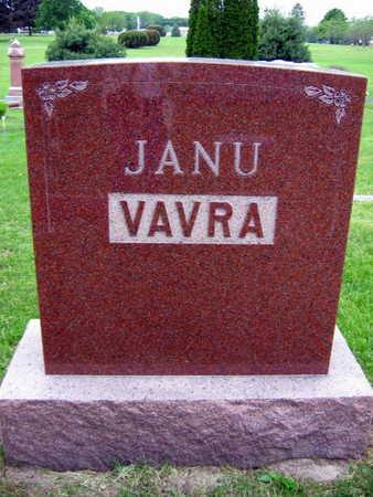 JANU VAVRA, FAMILY STONE - Linn County, Iowa | FAMILY STONE JANU VAVRA