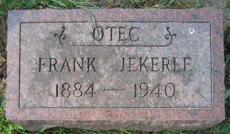 JEKERLE, FRANK - Linn County, Iowa | FRANK JEKERLE