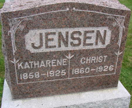 JENSEN, CHRIST - Linn County, Iowa | CHRIST JENSEN