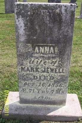JEWELL, ANNA - Linn County, Iowa | ANNA JEWELL