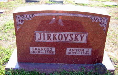 JIRKOVSKY, FRANCES - Linn County, Iowa | FRANCES JIRKOVSKY