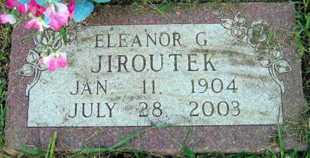 JIROUTEK, ELEANOR G. - Linn County, Iowa | ELEANOR G. JIROUTEK