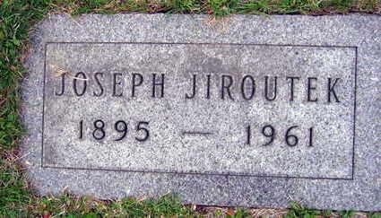 JIROUTEK, JOSEPH - Linn County, Iowa | JOSEPH JIROUTEK