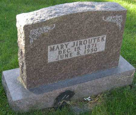 JIROUTEK, MARY - Linn County, Iowa | MARY JIROUTEK