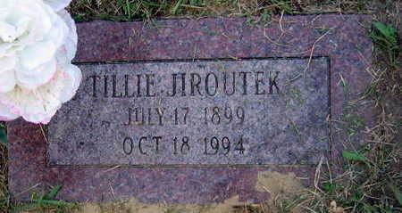 JIROUTEK, TILLIE - Linn County, Iowa | TILLIE JIROUTEK