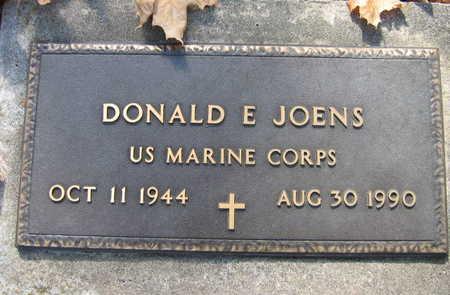 JOENS, DONALD E. - Linn County, Iowa | DONALD E. JOENS