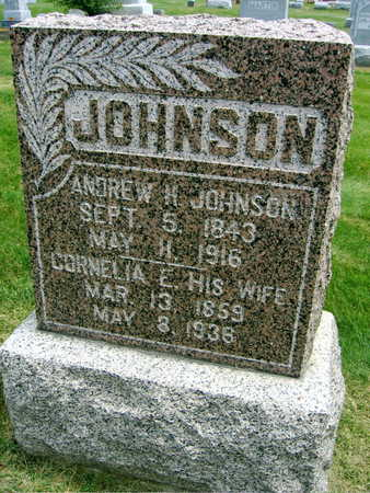 JOHNSON, ANDREW H. - Linn County, Iowa | ANDREW H. JOHNSON