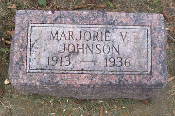 JOHNSON, MARJORIE V - Linn County, Iowa | MARJORIE V JOHNSON