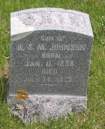 JOHNSON, ORIN - Linn County, Iowa | ORIN JOHNSON