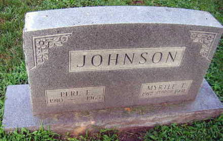 JOHNSON, PERL E. - Linn County, Iowa | PERL E. JOHNSON