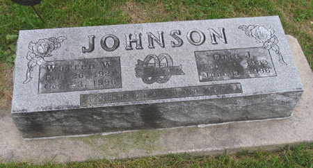 JOHNSON, WARREN W. - Linn County, Iowa | WARREN W. JOHNSON