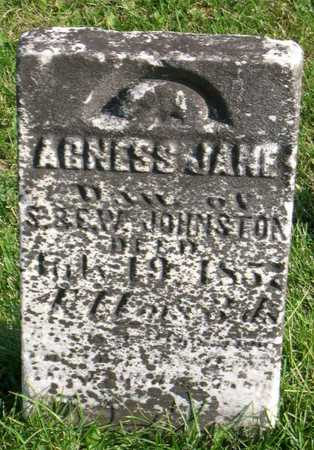 JOHNSTON, AGNESS JANE - Linn County, Iowa | AGNESS JANE JOHNSTON
