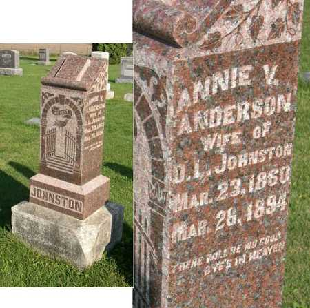 JOHNSTON, ANNIE V. - Linn County, Iowa | ANNIE V. JOHNSTON