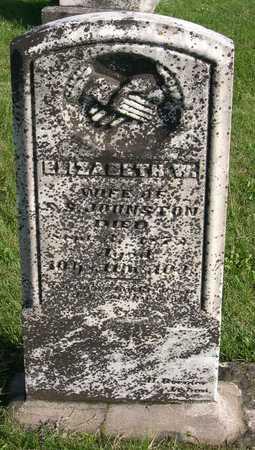 JOHNSTON, ELIZABETH W. - Linn County, Iowa | ELIZABETH W. JOHNSTON