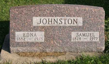 JOHNSTON, EDNA - Linn County, Iowa | EDNA JOHNSTON