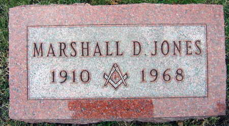 JONES, MARSHALL D. - Linn County, Iowa | MARSHALL D. JONES