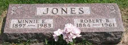 JONES, MINNIE E. - Linn County, Iowa | MINNIE E. JONES