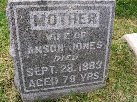 JONES, WIFE OF ANSON - Linn County, Iowa | WIFE OF ANSON JONES