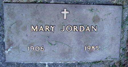 JORDAN, MARY - Linn County, Iowa | MARY JORDAN