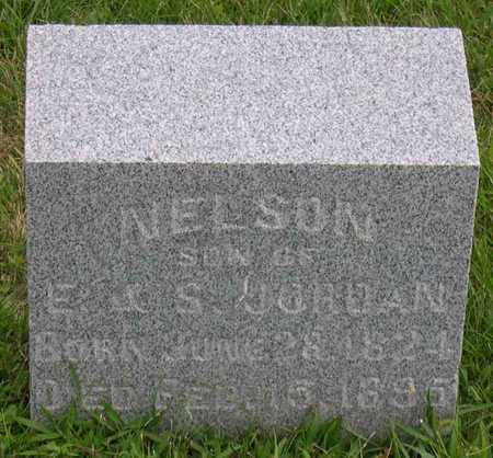 JORDAN, NELSON - Linn County, Iowa | NELSON JORDAN