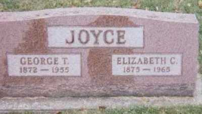 JOYCE, GEORGE T. - Linn County, Iowa | GEORGE T. JOYCE