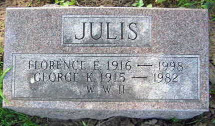 JULIS, FLORENCE - Linn County, Iowa | FLORENCE JULIS