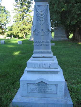 JUNK, INFANT DAUGHTER - Linn County, Iowa | INFANT DAUGHTER JUNK