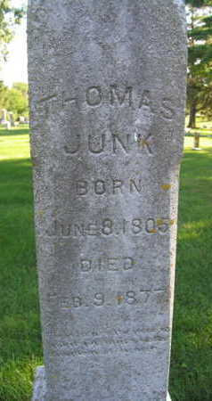 JUNK, THOMAS - Linn County, Iowa | THOMAS JUNK