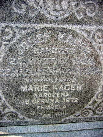 KACER, MARIE - Linn County, Iowa | MARIE KACER
