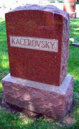 KACEROVSKY, FAMILY STONE - Linn County, Iowa | FAMILY STONE KACEROVSKY