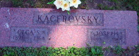 KACEROVSKY, OLGA S. - Linn County, Iowa | OLGA S. KACEROVSKY