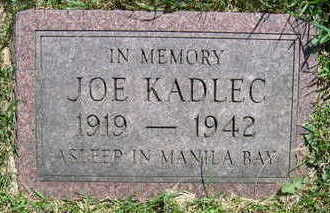 KADLEC, JOE - Linn County, Iowa | JOE KADLEC