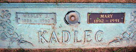 KADLEC, MARY - Linn County, Iowa | MARY KADLEC