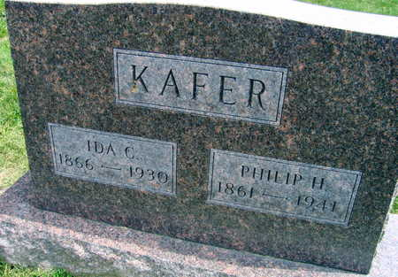 KAFER, IDA C. - Linn County, Iowa | IDA C. KAFER