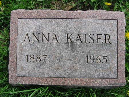 KAISER, ANNA - Linn County, Iowa | ANNA KAISER