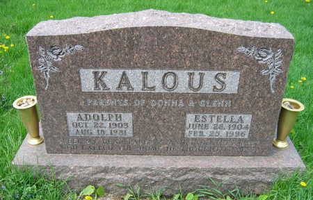 KALOUS, ESTELLA - Linn County, Iowa | ESTELLA KALOUS