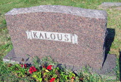 KALOUS, FAMILY STONE - Linn County, Iowa | FAMILY STONE KALOUS