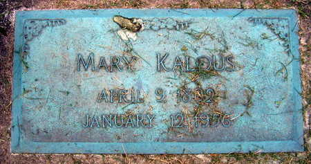 KALOUS, MARY - Linn County, Iowa | MARY KALOUS