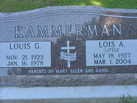 KAMMERMAN, LOUIS G. - Linn County, Iowa | LOUIS G. KAMMERMAN