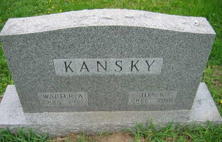 SHUSTER KANSKY, IDA K. - Linn County, Iowa | IDA K. SHUSTER KANSKY