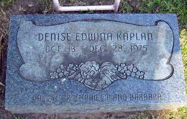 KAPLAN, DENISE EDWINA - Linn County, Iowa | DENISE EDWINA KAPLAN