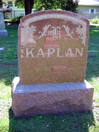 KAPLAN, FAMILY STONE - Linn County, Iowa | FAMILY STONE KAPLAN