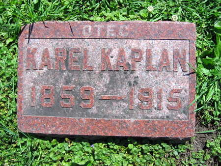 KAPLAN, KAREL - Linn County, Iowa | KAREL KAPLAN