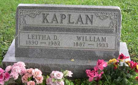 KAPLAN, WILLIAM - Linn County, Iowa | WILLIAM KAPLAN