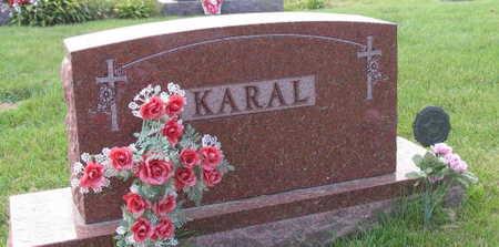KARAL, FAMILY STONE - Linn County, Iowa | FAMILY STONE KARAL