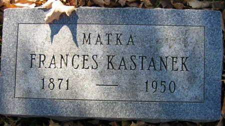 KASTANEK, FRANCES - Linn County, Iowa | FRANCES KASTANEK
