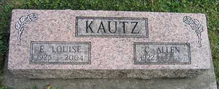 KAUTZ, E. LOUISE - Linn County, Iowa | E. LOUISE KAUTZ